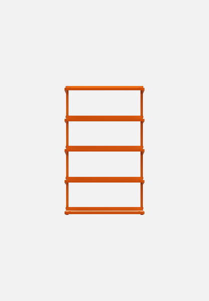 Click Shelving System — Large-Sigurd Larsen-New Tendency-Orange-Average