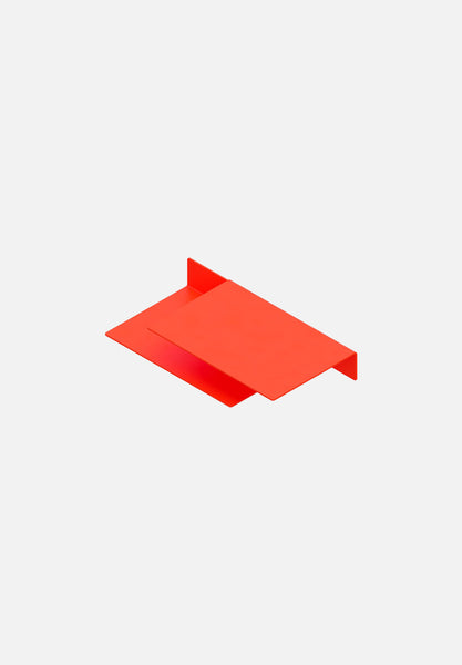 Float Shelf — Luminous Orange