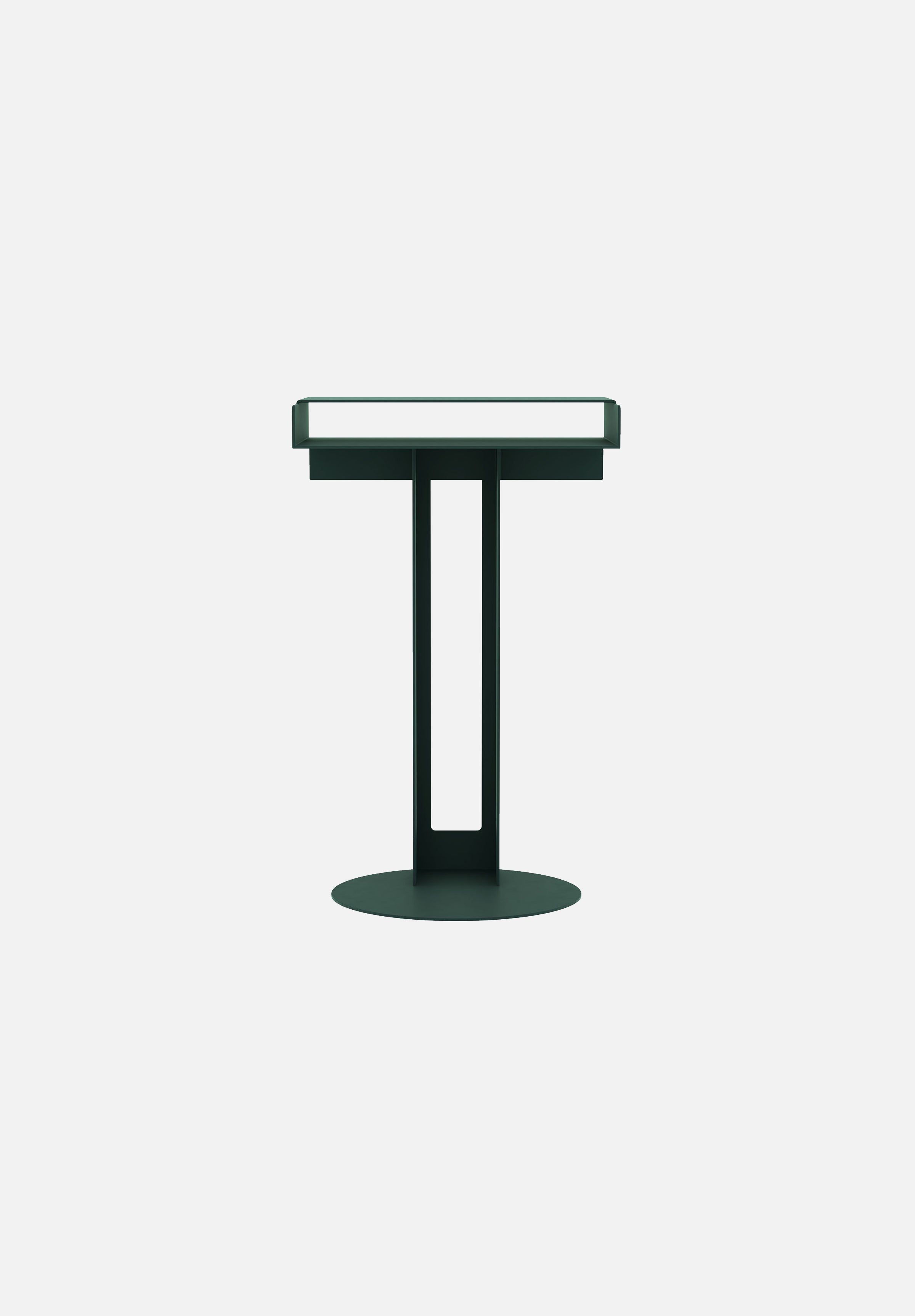 Meta Side Table-New Tendency-Dark Green-Average