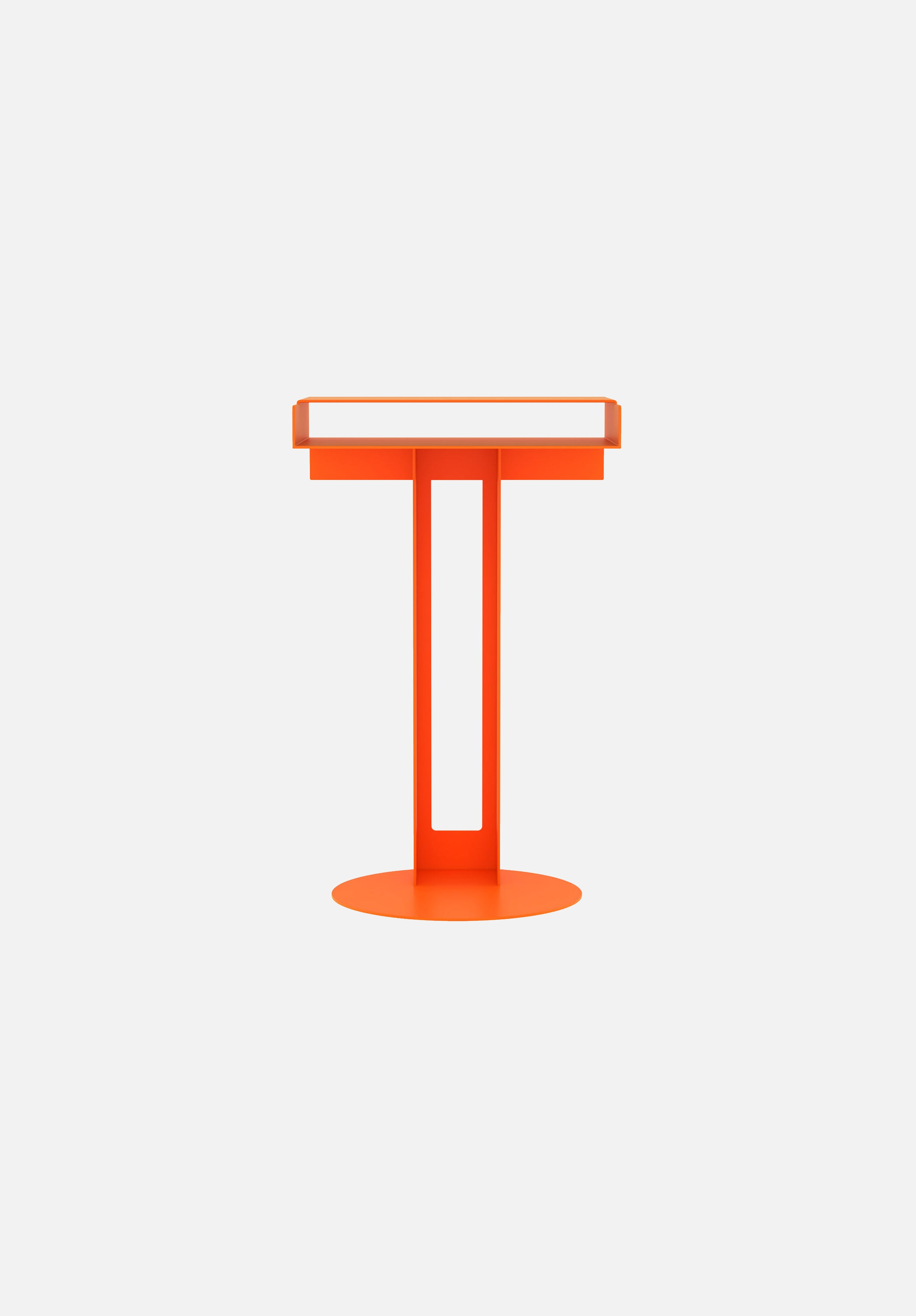 Meta Side Table-New Tendency-Orange-Average