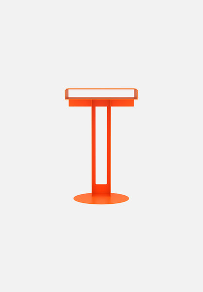Meta Side Table — Orange-New Tendency-Orange-Average