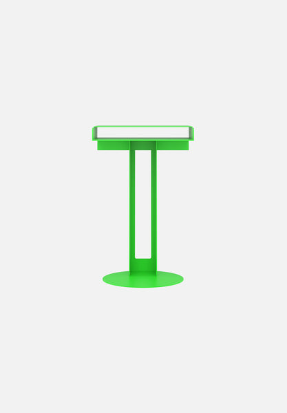 Meta Side Table — Luminous Green-New Tendency-Luminous Green-Average