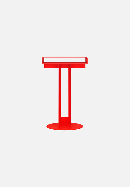 Meta Side Table-New Tendency-Luminous Orange-Average