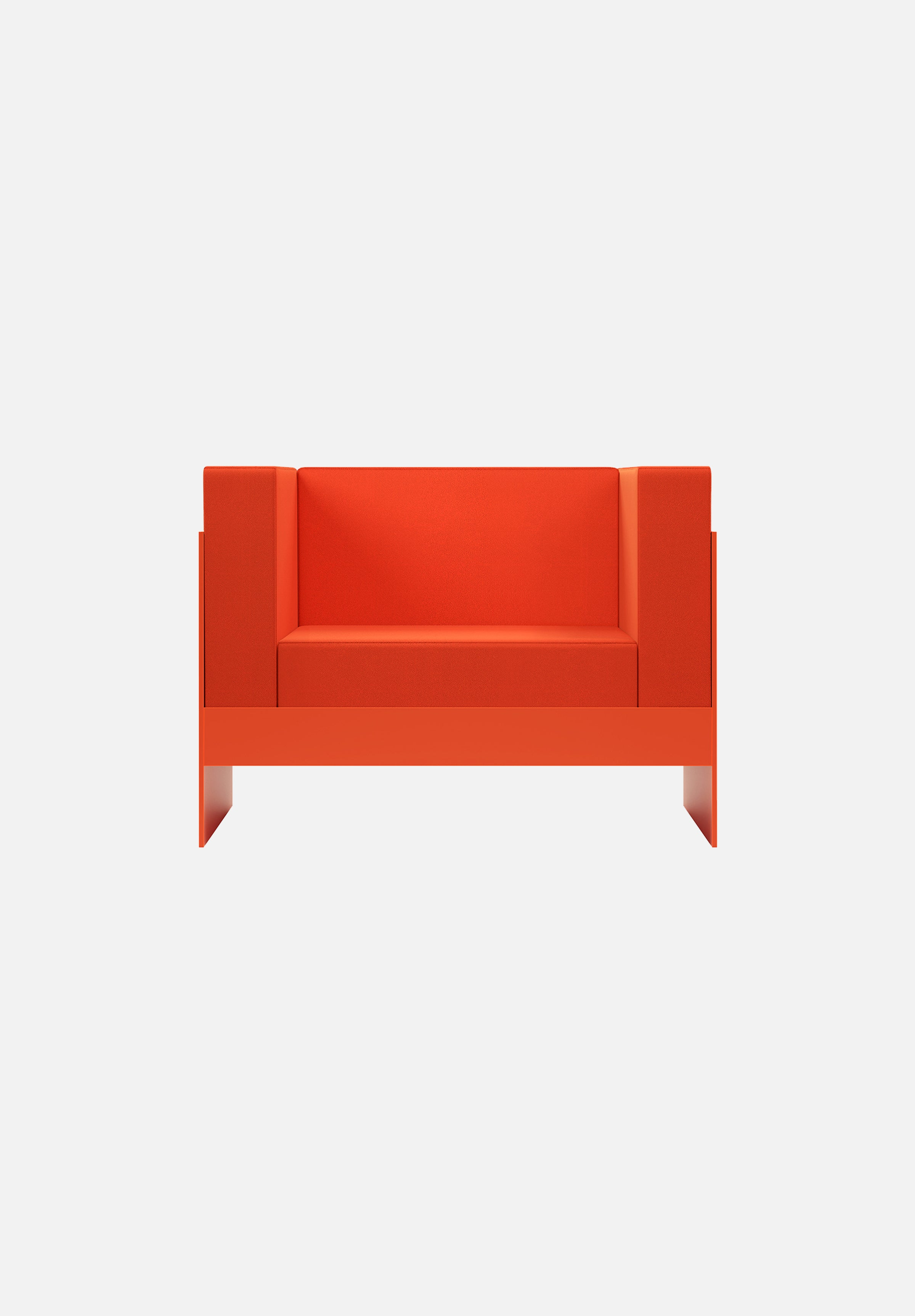 Standard Sofa — 1 Seater-New Tendency-Orange-Average