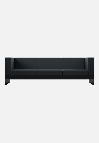 Standard Sofa — 3 Seater-New Tendency-Black-Average