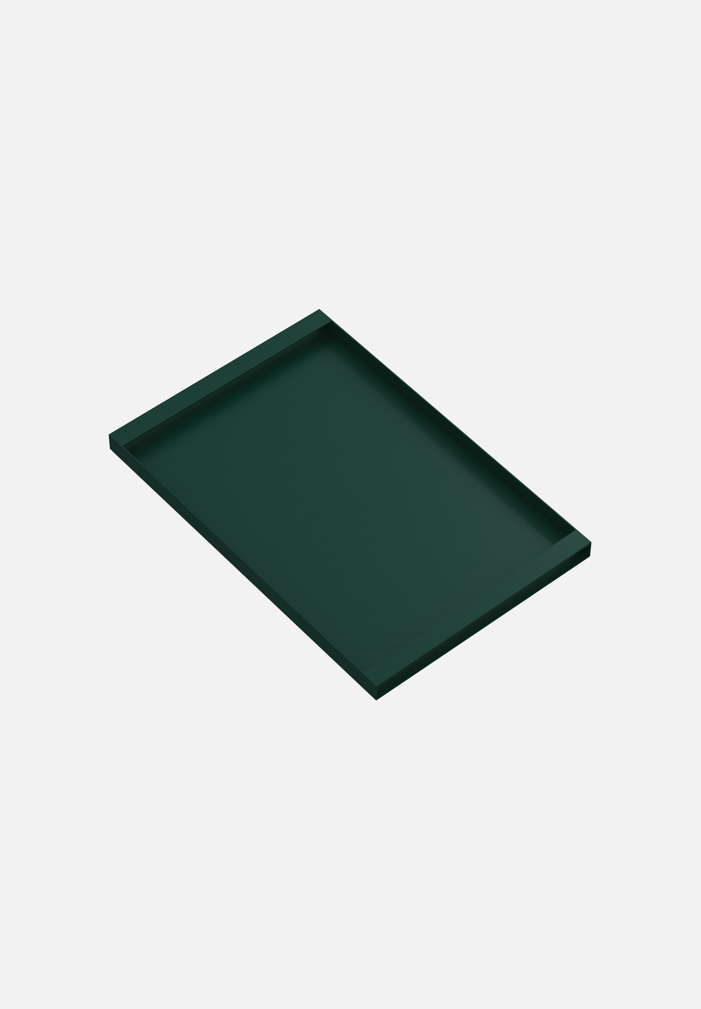 Torei Tray-New Tendency-Large-Dark Green-Average