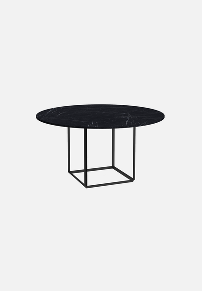 Florence Dining Table — Marquina Marble-New Works-145cm-Average