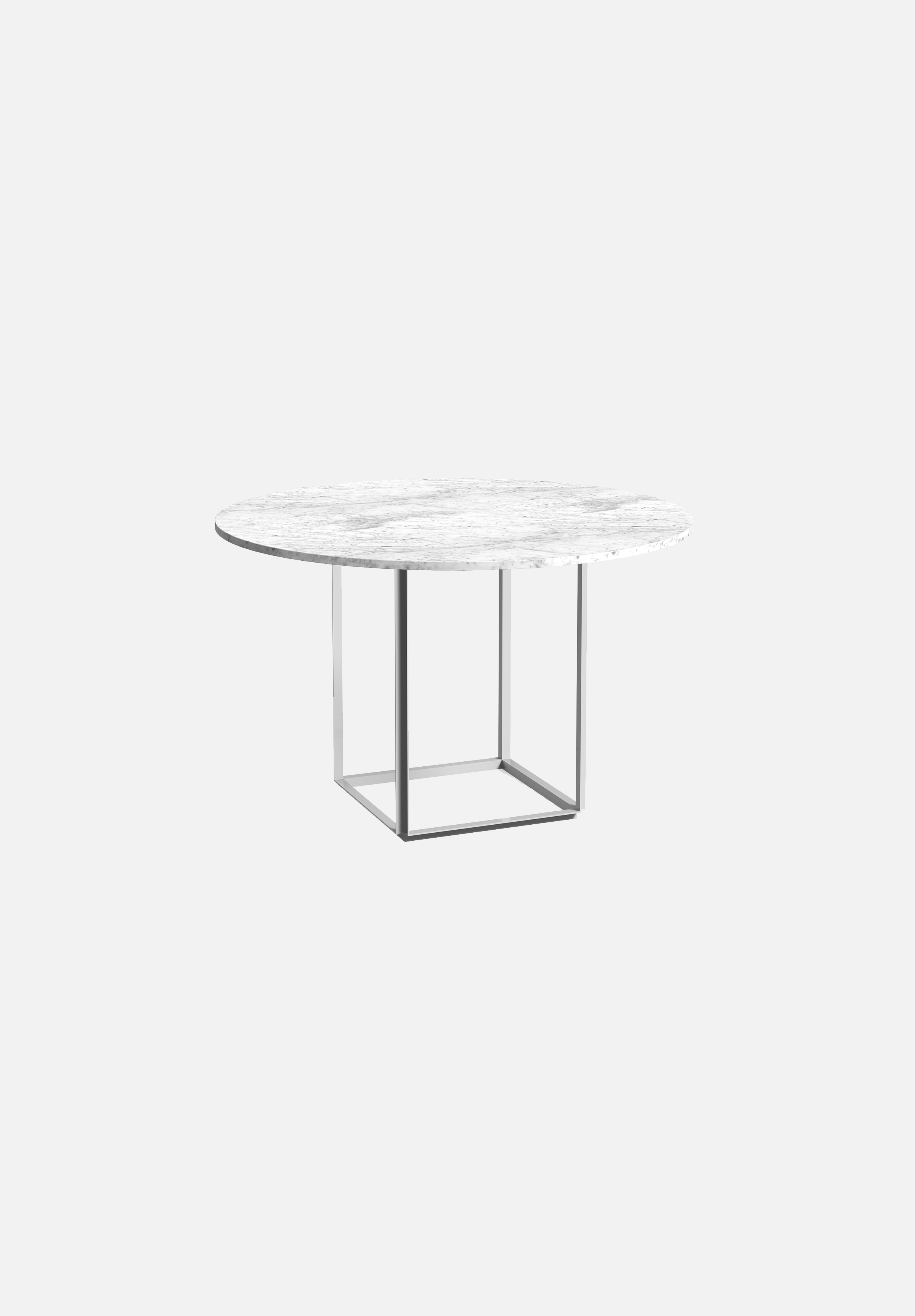 Florence Dining Table — Carrera Marble