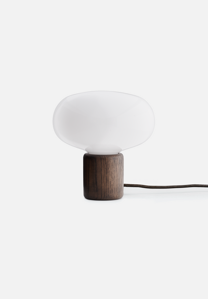 Karl-Johan Table Lamp — Smoked Oak
