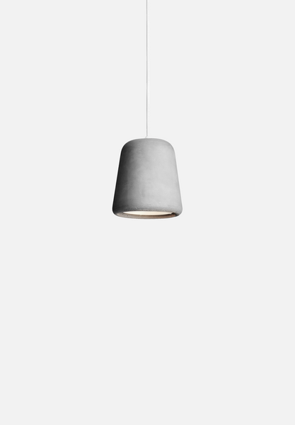 Material Pendant — Light Concrete
