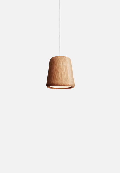 Material Pendant — Natural Oak-Noergaard & Kechayas-New Works-Average
