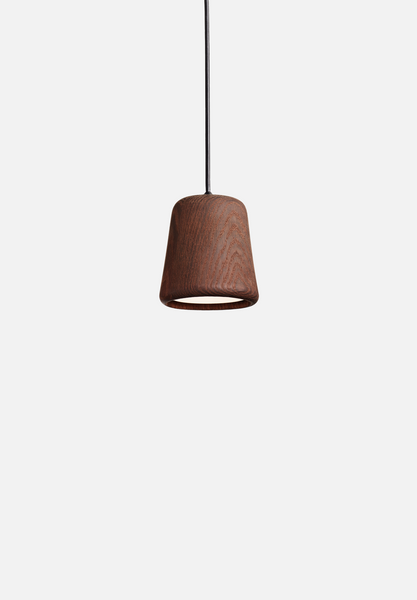 Material Pendant — Smoked Oak-Noergaard & Kechayas-New Works-Average