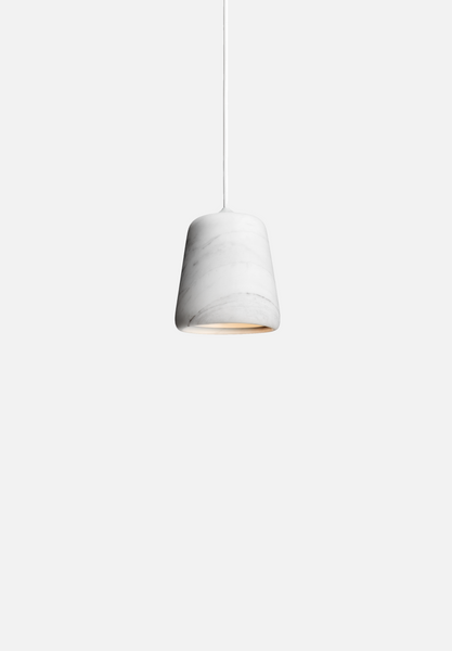 Material Pendant — White Marble-Noergaard & Kechayas-New Works-Average