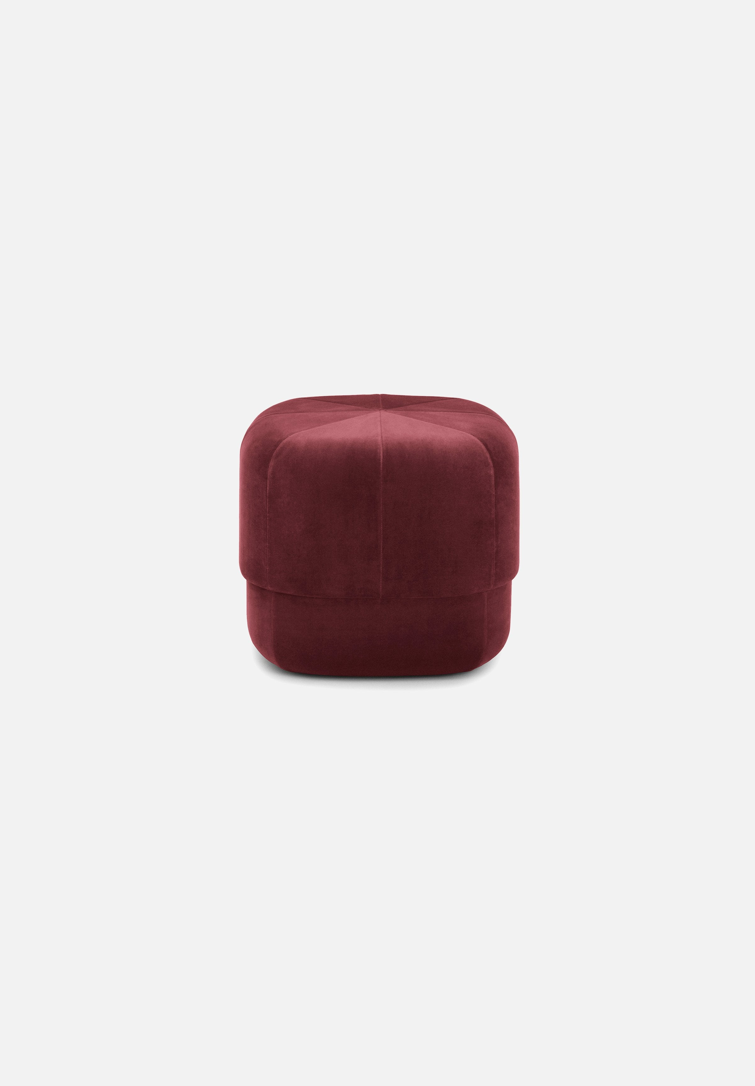 Circus Pouf — Small-Simon Legald-Normann Copenhagen-Dark Red-Average
