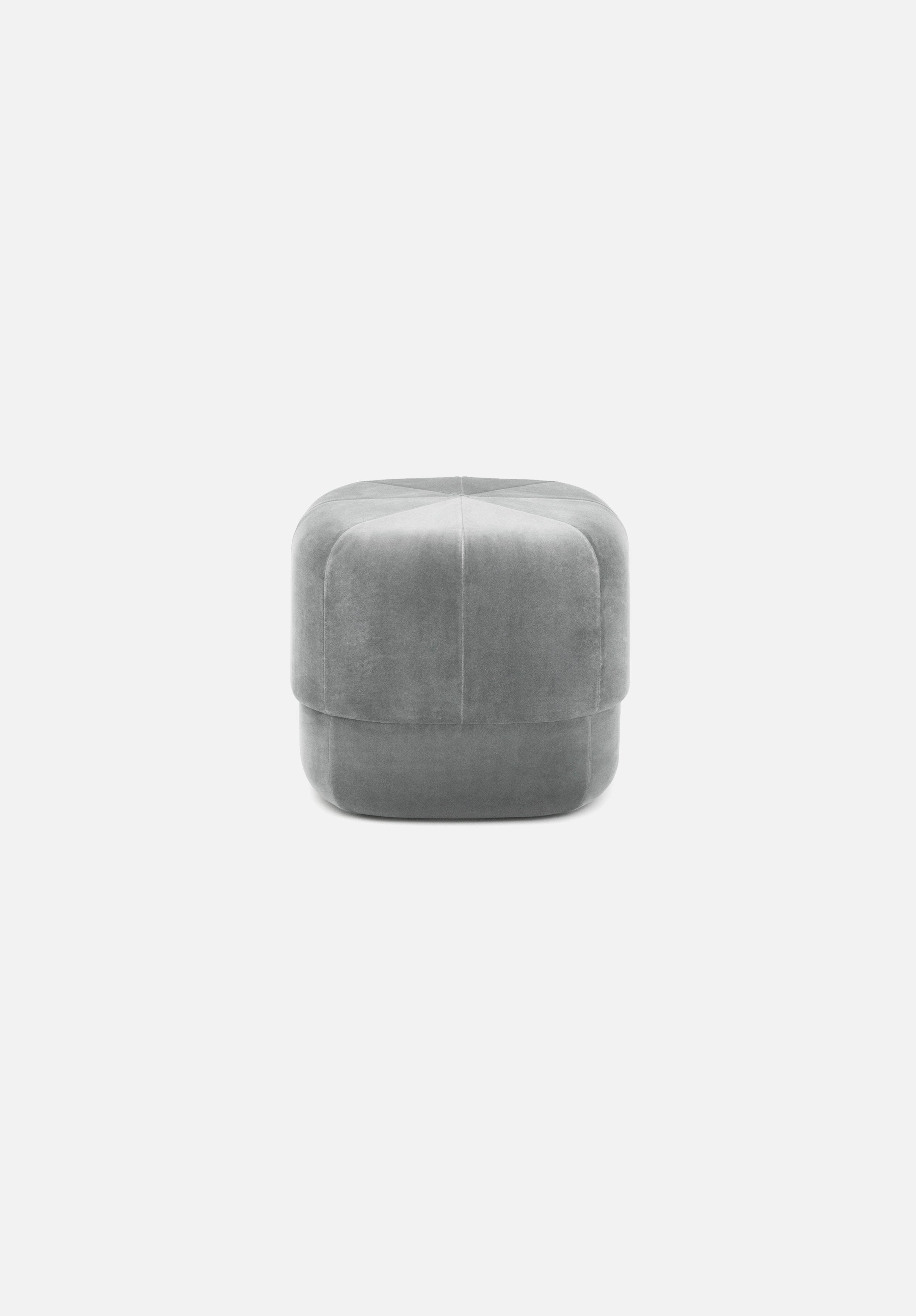 Circus Pouf — Small-Simon Legald-Normann Copenhagen-Grey-Average