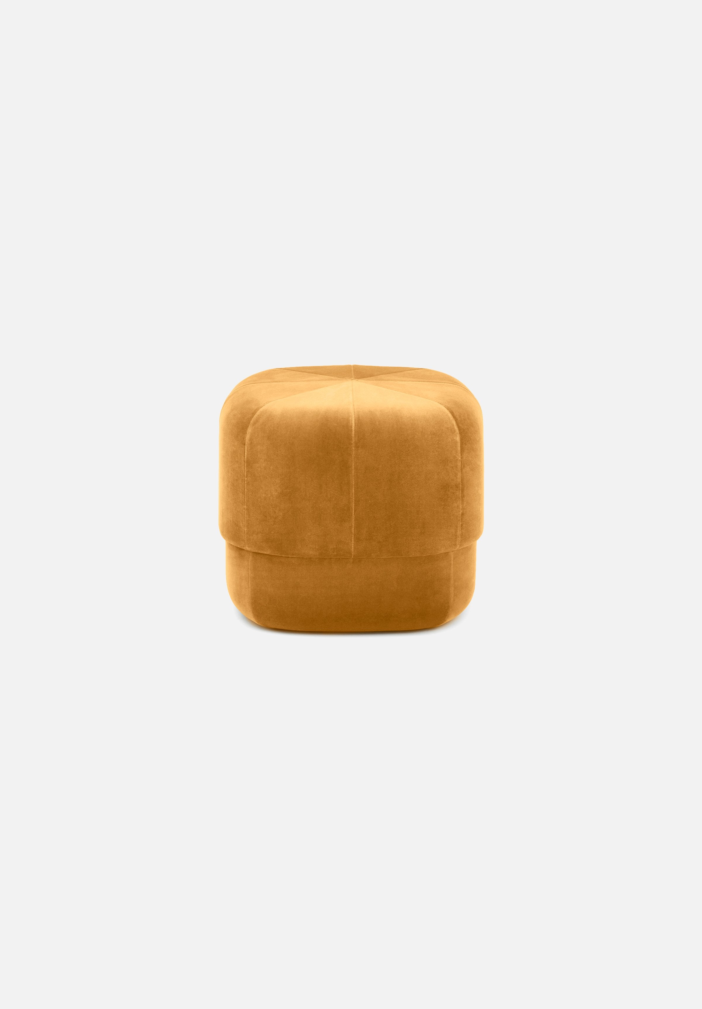 Circus Pouf — Small-Simon Legald-Normann Copenhagen-Yellow-Average