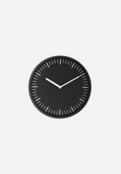 Day Wall Clock-Simon Legald-Normann Copenhagen-Black-Average-canada-design-store-danish-denmark-furniture-interior