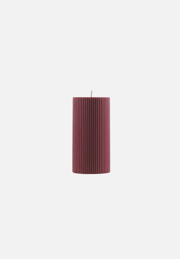 Grooved Candle