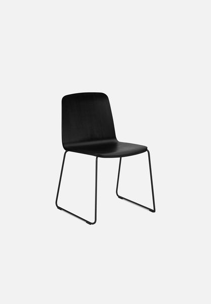 Just Chair-Iskos-Berlin-Normann Copenhagen-Black Oak-Steel-Average