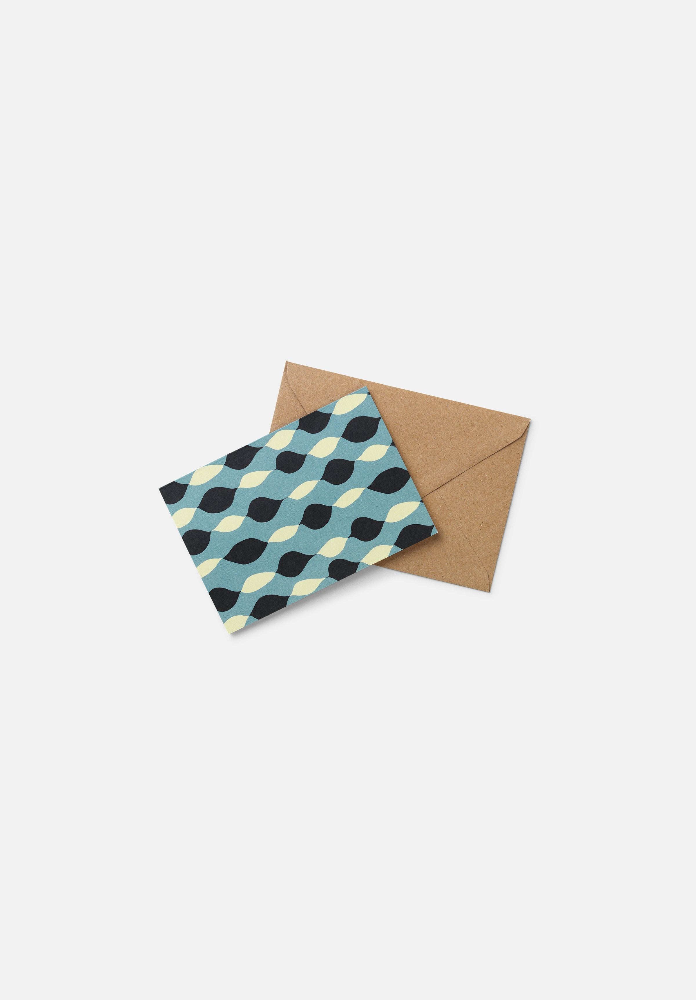 EDITH Greeting Card — Drops