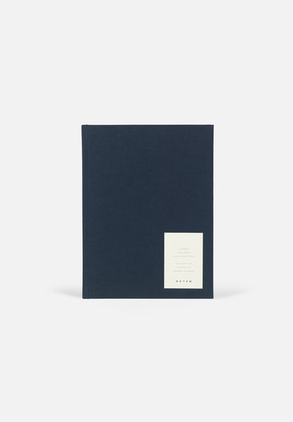 EVEN Notebook — Large Dark Blue