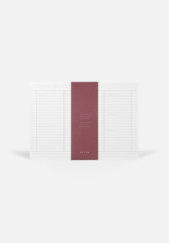 MILO Daily Planner Notepad