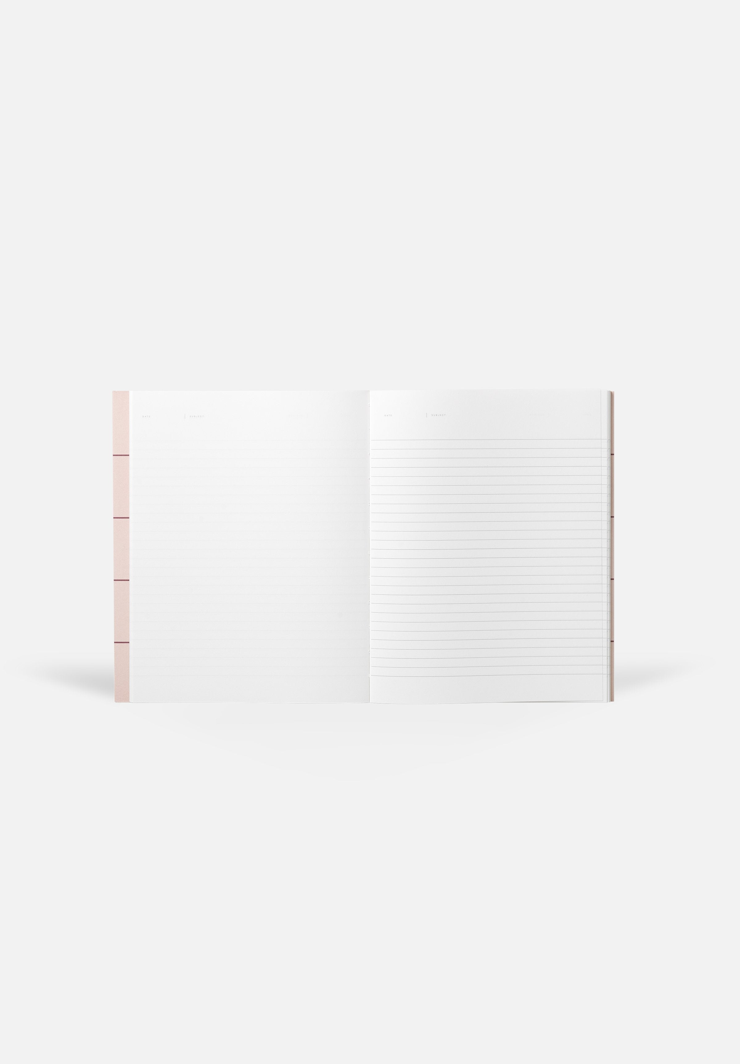 UMA Notebook — Blank + Lined Sheets