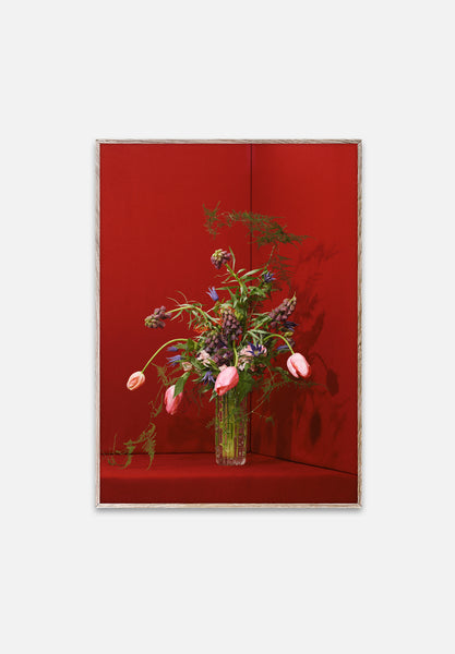 Blomst Red-Uffe Buchard-Paper Collective-30x40cm-Average