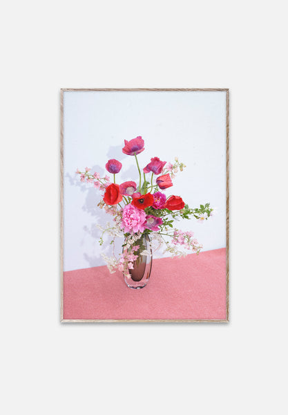 Blomst Pink-Uffe Buchard-Paper Collective-30x40cm-Average