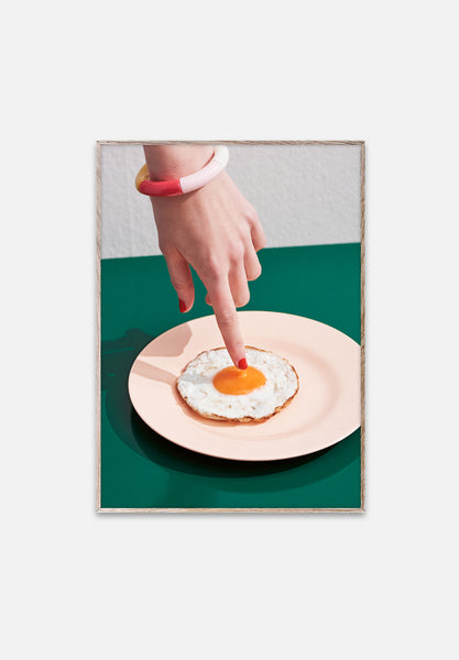 Fried Egg-Henrik Bülow-Paper Collective-30x40cm-Average