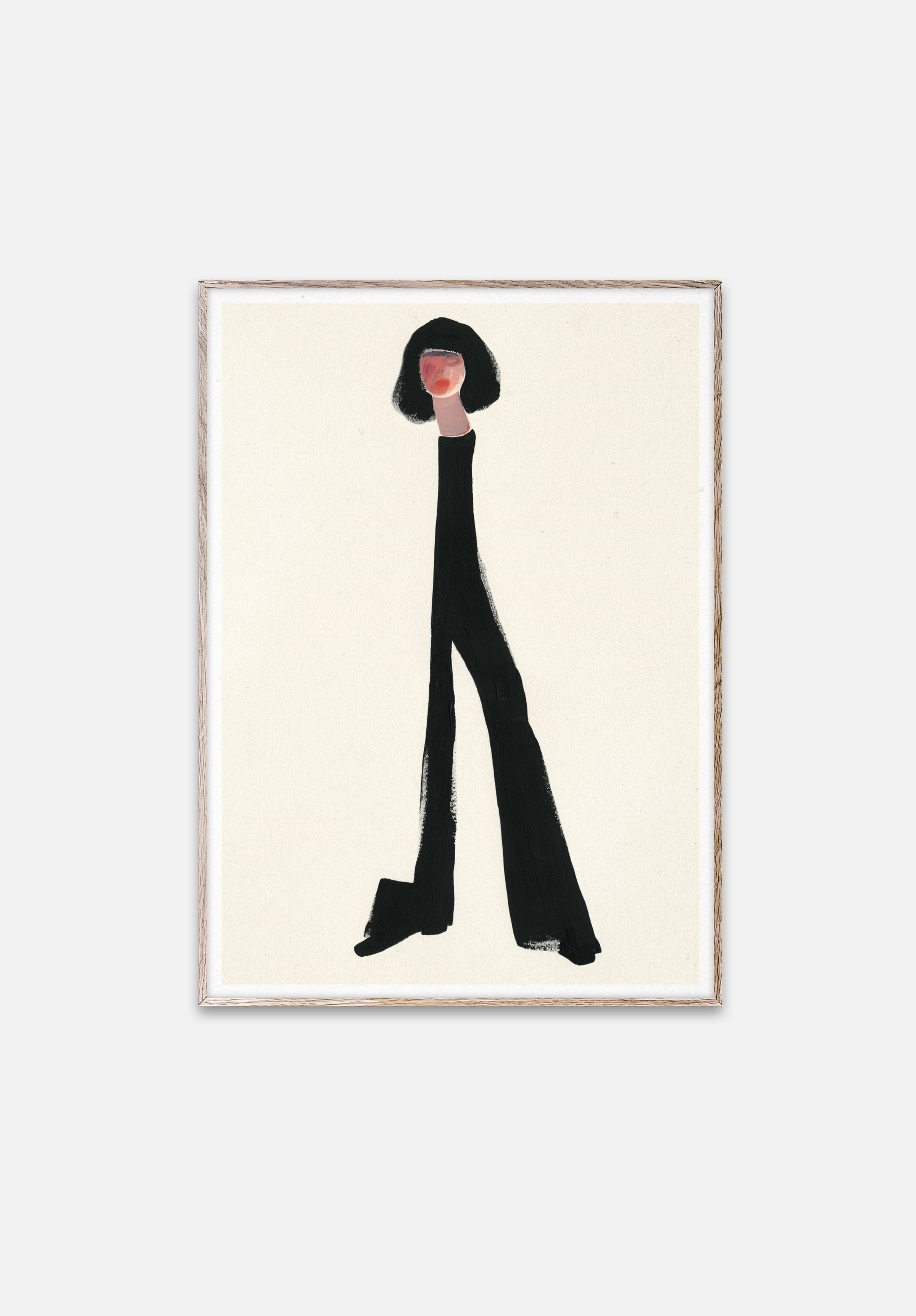 Black Pants-Amelie Hegardt-Paper Collective-30x40cm-Average