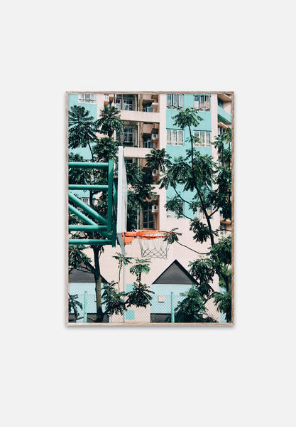 Cities Of Basketball 01 — Hong Kong-Kasper Nyman-Paper Collective-30x40cm-Average
