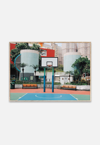 Cities Of Basketball 04 — Hong Kong-Kasper Nyman-Paper Collective-40x30cm-Average