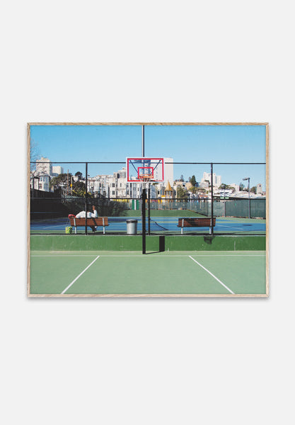 Cities Of Basketball 09 — San Francisco-Kasper Nyman-Paper Collective-40x30cm-Average