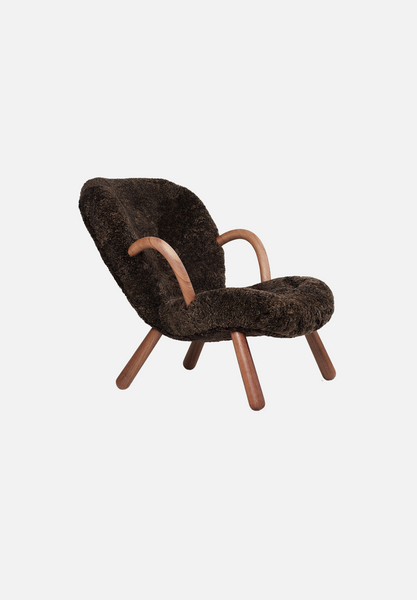 The Arctander Chair — Brown Sheepskin