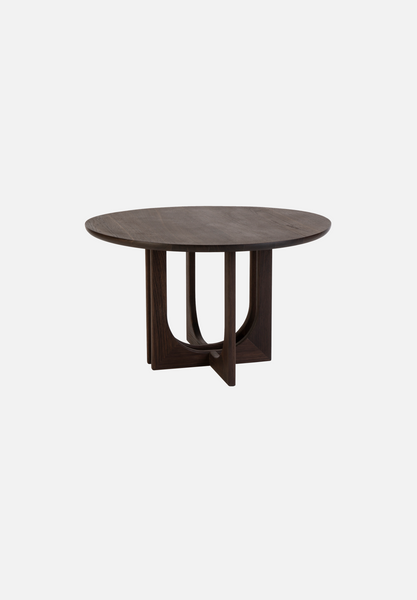 Ensemble Side Table — Medium, Smoked Oak