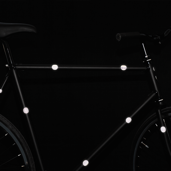 Sticky Bike Reflectors