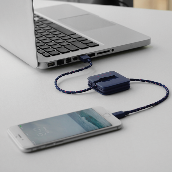 Nautical Jump Cable by Native Union from www.average.is Toronto Canada