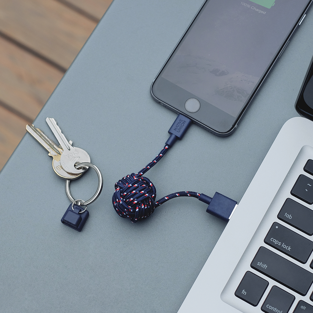 Nautical Key Cable by Native Union from www.average.is Toronto Canada