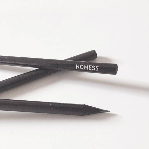Black Pencils by Nomess Copenhagen from www.average.is Toronto Canada