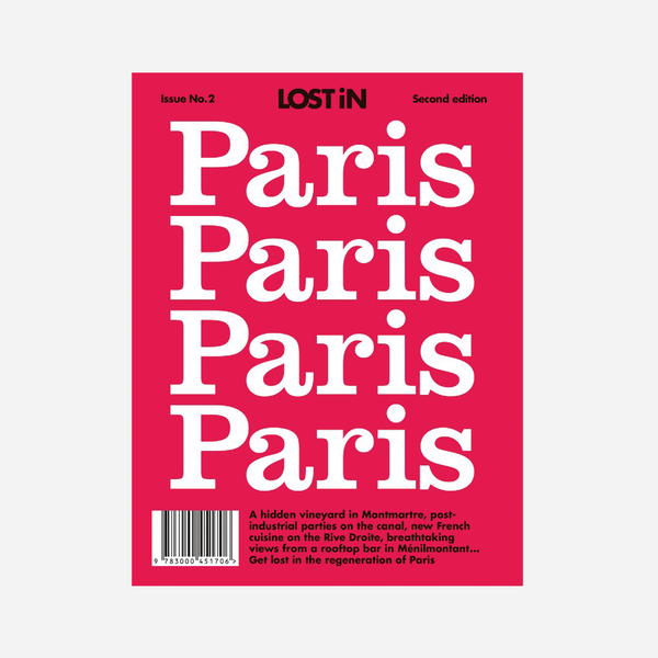 lostin paris travel guide book by Lost iN from www.average.is Toronto Canada