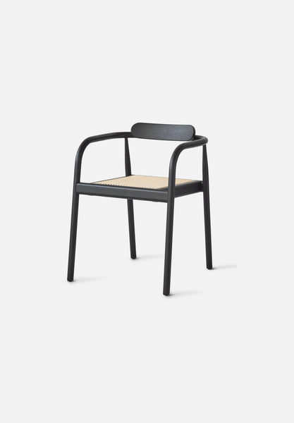 AHM Chair — Cane Seat-Isabel Ahm-Please Wait to be Seated-black-Average