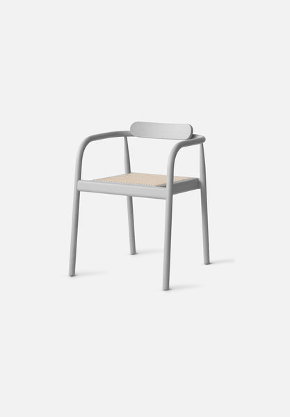 AHM Chair — Cane Seat-Isabel Ahm-Please Wait to be Seated-ash_grey-Average