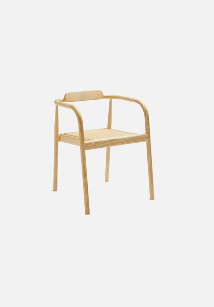 AHM Chair — Cane Seat-Isabel Ahm-Please Wait to be Seated-natural- - Average Toronto Canada Design