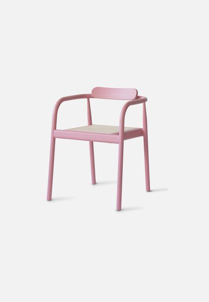 AHM Chair — Cane Seat-Isabel Ahm-Please Wait to be Seated-indian_red-Average