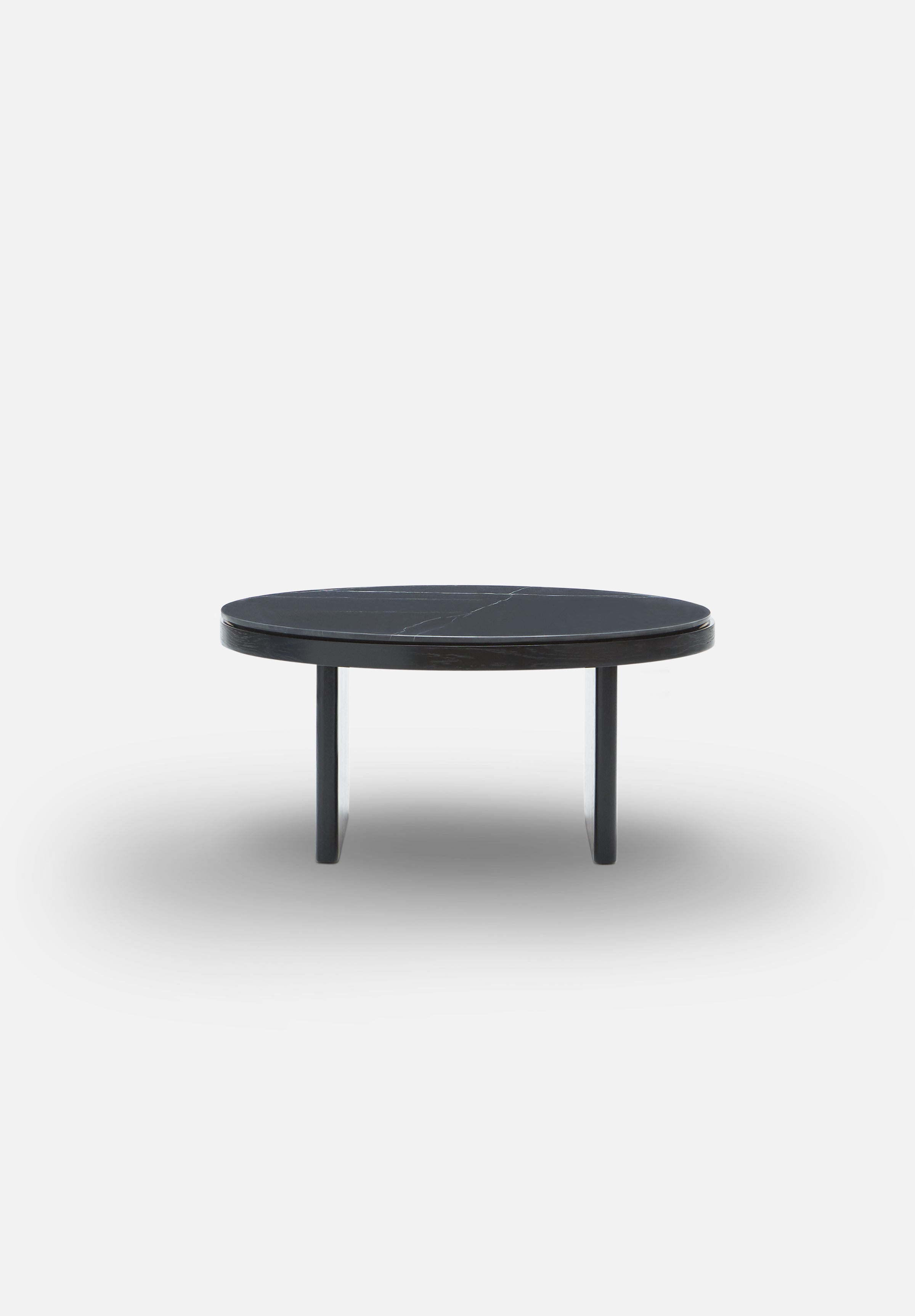 Anza — Marble Coffee Table-Please Wait to be Seated-Cedar Green-Average