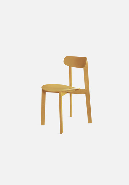 Bondi Chair-Frag Woodall-Please Wait to be Seated-turmeric_yellow-Average
