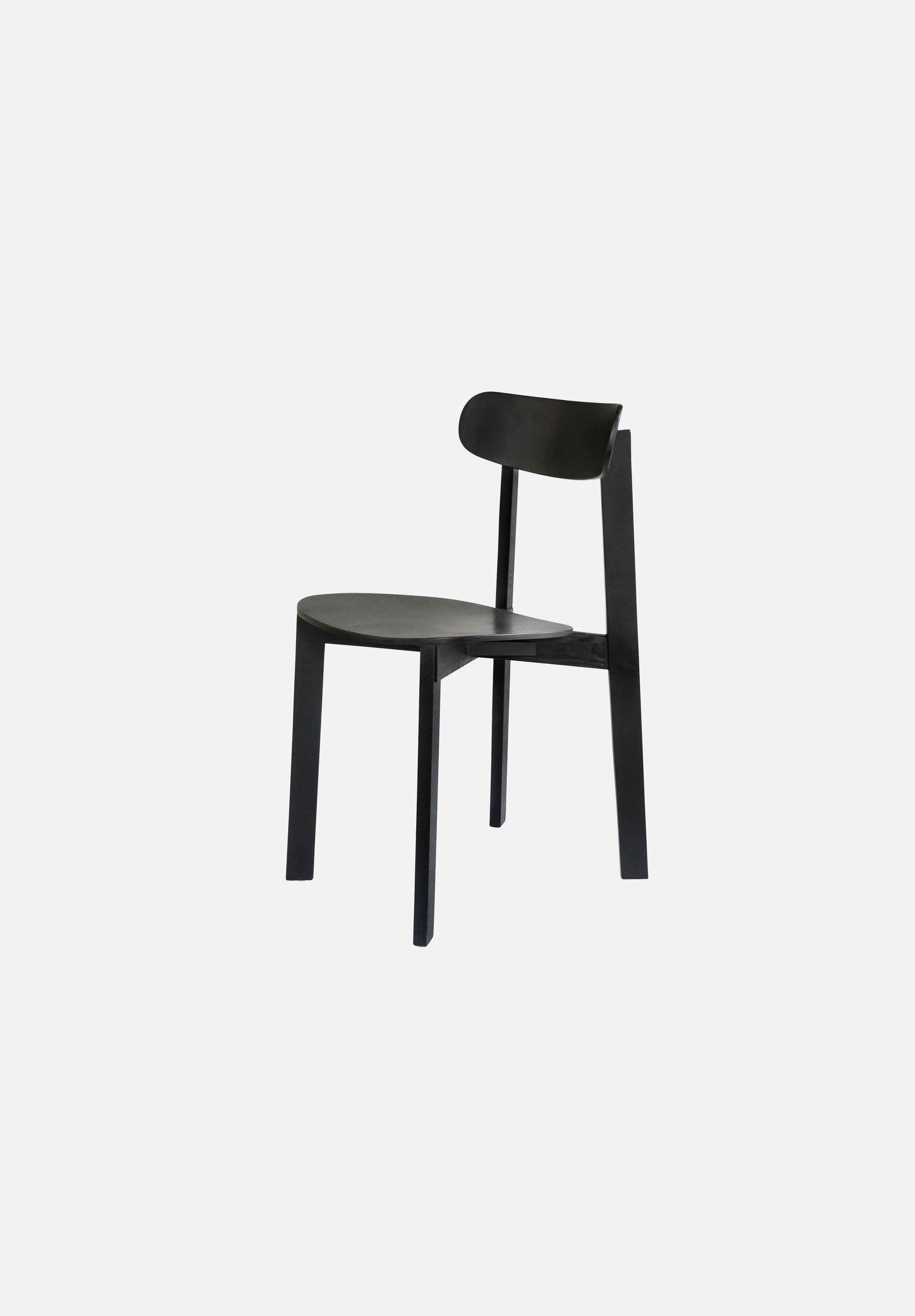 Bondi Chair-Frag Woodall-Please Wait to be Seated-black-Average