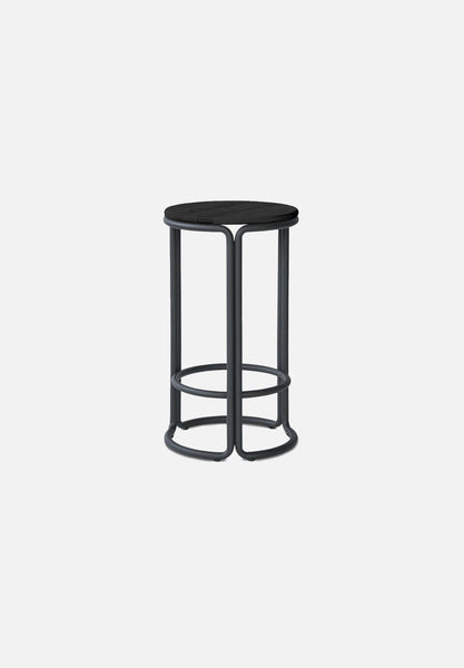 Hardie Bar/Counter Stool — Black / Black Ash