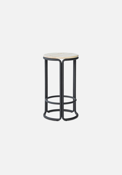 Hardie Bar/Counter Stool — Black / Natural Ash